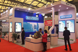 SENTECH booth SEMICON 2017